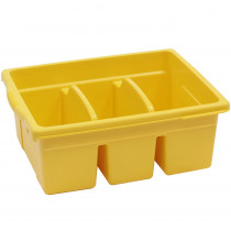 CEPCC4069Y - Leveled Reading Yellow Large Divided Book Tub in Book Displays
