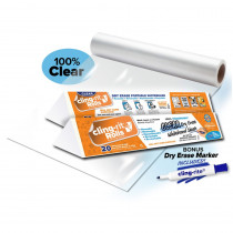 Clear Cling-rite - CGS1004CLINGRITE | All Things Cling Ltd | Dry Erase Sheets
