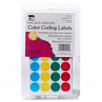 CHL45100 - Color Coding Labels Assorted in Organization