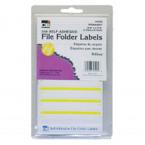 CHL45240 - File Folder Labels Yellow in Mailroom