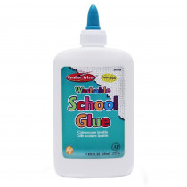 CHL46008 - Economy Washable School Glue 8 Oz in Glue/adhesives