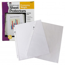 CHL48185 - Top Loading Sht Protectors Reduced Glare in Sheet Protectors