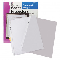 CHL48281 - Sheet Protectors Non Glare 10/Box in Sheet Protectors