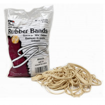 Rubber Bands - High Qual. - #54 (Assorted) -1/4 Lb bag - CHL56254 | Charles Leonard | Mailroom