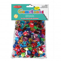 Creative Arts Gemstones Assorted Styles and Colors, 1 Pound Bag - CHL59100 | Charles Leonard | Beads