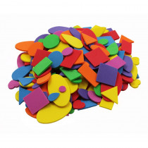 CHL70572 - Foam Shapes Asst Colors 720 Pcs in Foam
