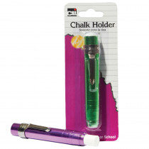 CHL74545 - Chalk Holder Aluminum Assorted Colors in Chalkboard Accessories