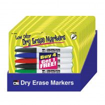 CHL76840ST - 12 Pks Of 5 Pocket Dry Erase Marker Low Odor in Whiteboard Accessories