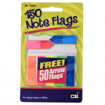 CHL76940ST - Note Flags Pack Of 30 In 5 Colors in Post It & Self-stick Notes