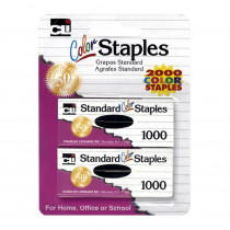 CHL80262 - Staples Standard Asst Colors in Staplers & Accessories
