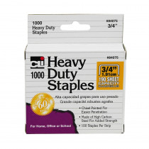 CHL84075 - Extra Heavy Duty Staples 3/4 in Staplers & Accessories