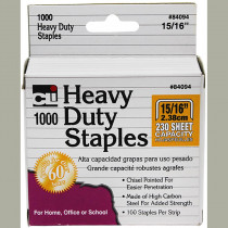CHL84094 - Extra Heavy Duty Staples 15/16 in Staplers & Accessories