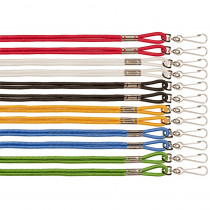 CHS126ASST - Lanyards Assorted 12/Pk in Whistles