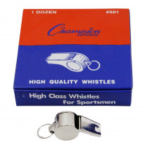 CHS501 - Metal Whistle Set Of 12 in Whistles