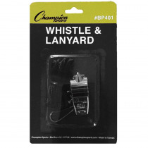 CHSBP401 - Metal Whistle And Lanyard in Whistles