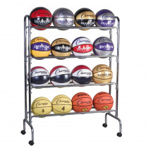 CHSBRC4 - Portable Ball Rack 4 Tier Holds 16 Balls in Racks