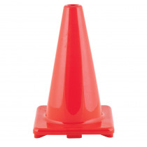 CHSC12OR - Flexible Vinyl Cone Wghtd 12Inorng in Cones