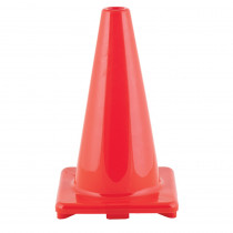 CHSC18OR - Flexible Vinyl Cone Wghtd 18In Orng in Cones