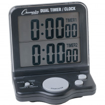 CHSDC100 - Dual Timer Jumbo Tabletop Wall Mount in Timers