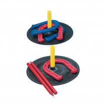 CHSIHS1 - Indoor Outdoor Horseshoe Set in Outdoor Games