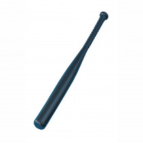 CHSPLB - 31In Black Solid Plastic Bat Lightweight in Outdoor Games