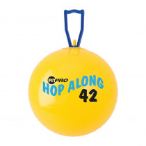 CHSPP42 - Fitpro 16.5In Hop Along Pon Pon Ball Yellow Junior in Physical Fitness