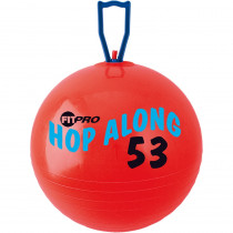CHSPP53 - Fitpro 20.5In Hop Along Pon Pon Ball Red Medium in Physical Fitness