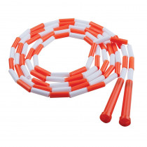 CHSPR10 - Plastic Segmented Ropes 10Ft Orange & White in Jump Ropes