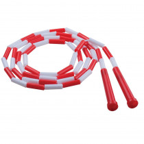 CHSPR7 - Plastic Segmented Ropes 7Ft Red & White in Jump Ropes