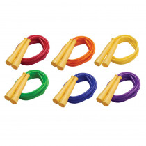 CHSSPR8 - Speed Rope 8Ft Yellow Handles Assorted Licorice Rope in Jump Ropes