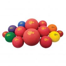 CHSUPGSET1 - 14 Asst Sizes Playground Ball Set in Balls