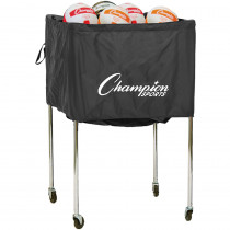 CHSVBCART - Volleyball Cart Folding 30 Volleyballs Aluminum in A/v Carts