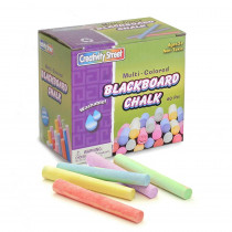 CK-1761 - Blackboard Chalk 60Pc Multi Color in Chalk