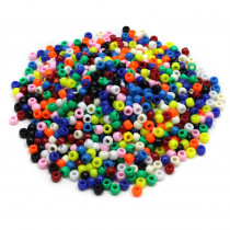 CK-3552 - Bright Hues Pony Beads in Beads