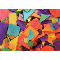 CK-3609 - Geometric Shapes in Wooden Shapes