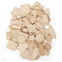 CK-369901 - Wooden Shapes 350 Pieces in Wooden Shapes