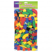 CK-4400 - Wonderfoam Geometric Shapes Classroom Pk in Foam