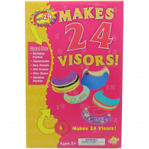 CK-5487 - Colossal Craft Packs Visors in Art & Craft Kits