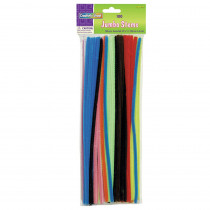 CK-711001 - Stems Jumbo 12 Asst. Bag/100 in Chenille Stems