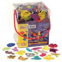CK-9096 - 3D Foam Sticker Box Nature Theme Wonderfoam Peel & Stick in Sticky Shapes