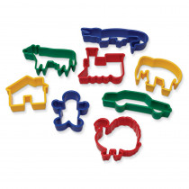 CK-9766 - Dough Cutters - Animals in Dough & Dough Tools