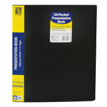 CLI33240 - C Line Bound 24 Pocket Sheet Protector Presentation Book in Sheet Protectors