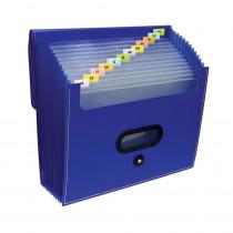 CLI48015 - C-Line 13 Pocket Ladder Expanding File in Folders