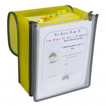 CLI58700 - 7 Pocket Vertical Backpack File in Folders