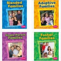 CPB9781429651622 - My Family Book Set Set Of 4 in Social Studies