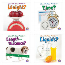 CPB9781429663342 - Measure It Book Set Set Of 4 in Math