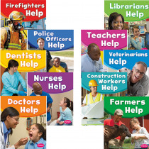 CPB9781476570723 - Our Community Helpers Set Of All 10 Titles in Social Studies