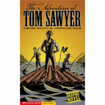 CPB9781598892208 - The Adventures Of Tom Sawyer Graphic Novel in Classics