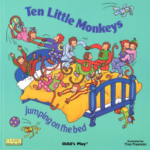 CPY0859538885 - Classic Books-W-Holes Ten Little Monkeys in Classics