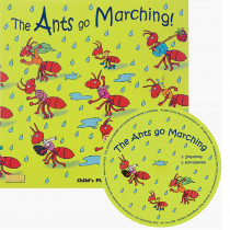 CPY9781846436222 - The Ants Go Marching Classic Books With Holes Plus Cd in Book With Cassette/cd